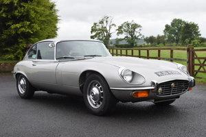 1972 Jaguar E-Type S3 V12 Coupe For Sale by Auction