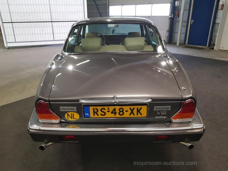 Jaguar XJ V12 1987  For Sale by Auction (picture 6 of 6)