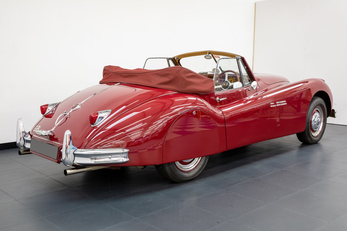 Jaguar XK140 drophead 1955 For Sale (picture 2 of 6)