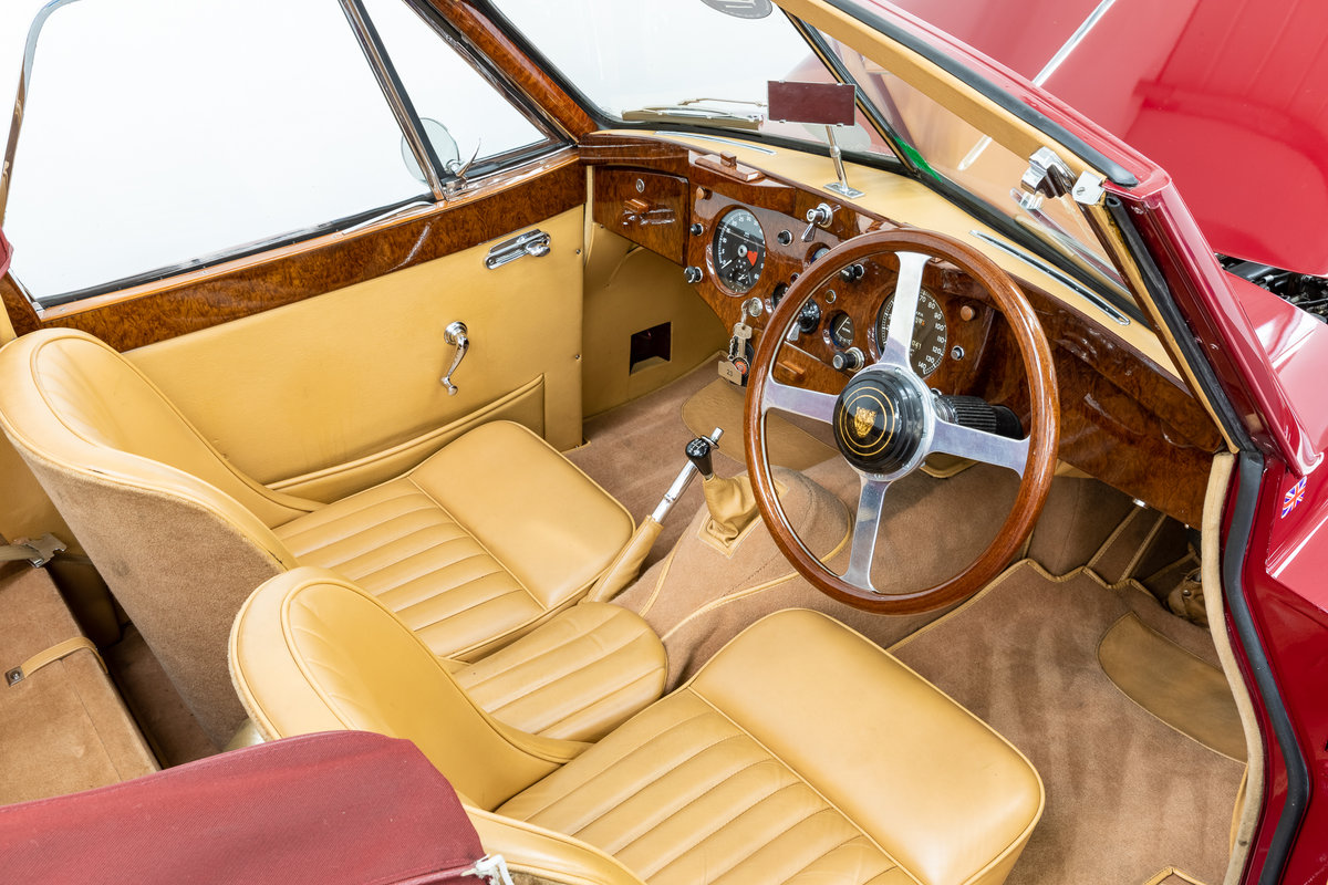 Jaguar XK140 drophead 1955 For Sale (picture 5 of 6)