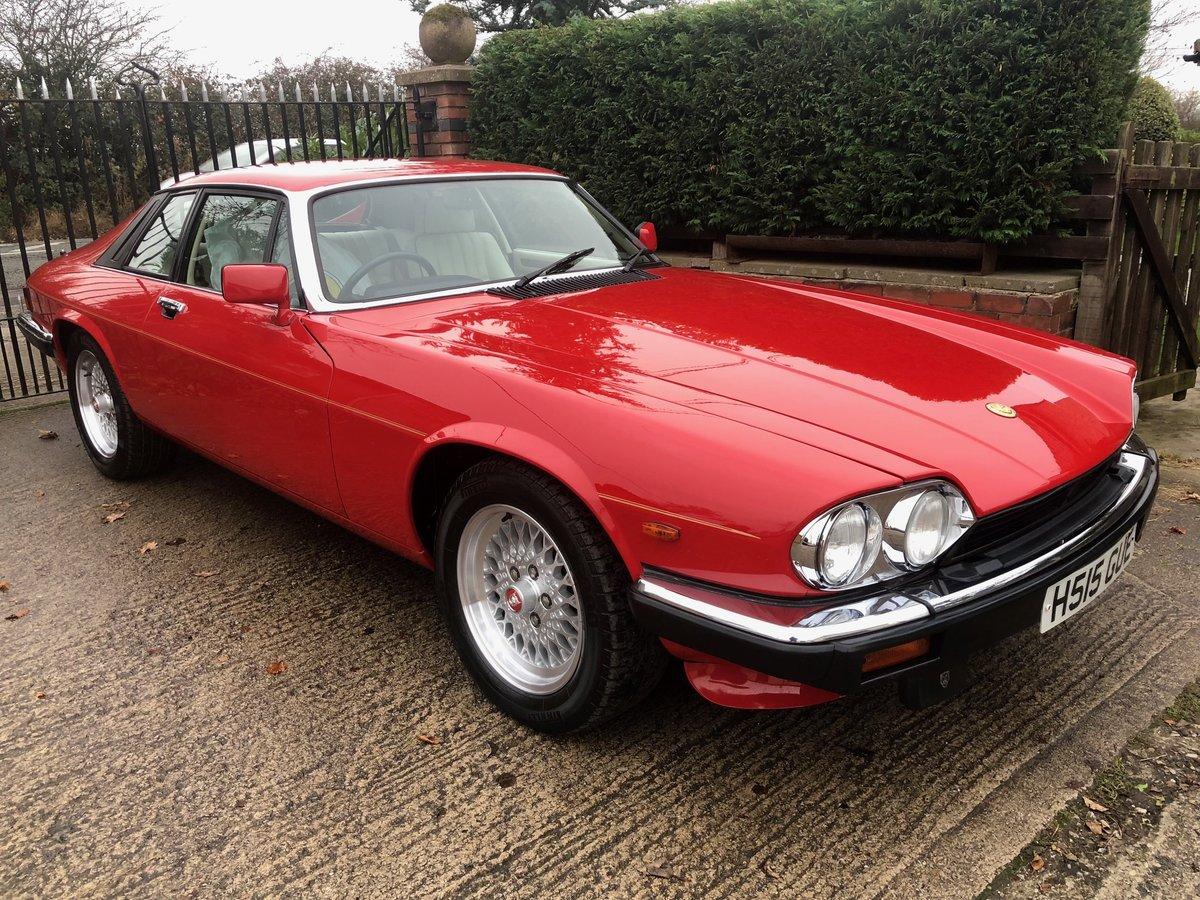 1991 Jaguar XJS Le Mans Limited Edition No 206 of 280 Built For Sale (picture 1 of 6)