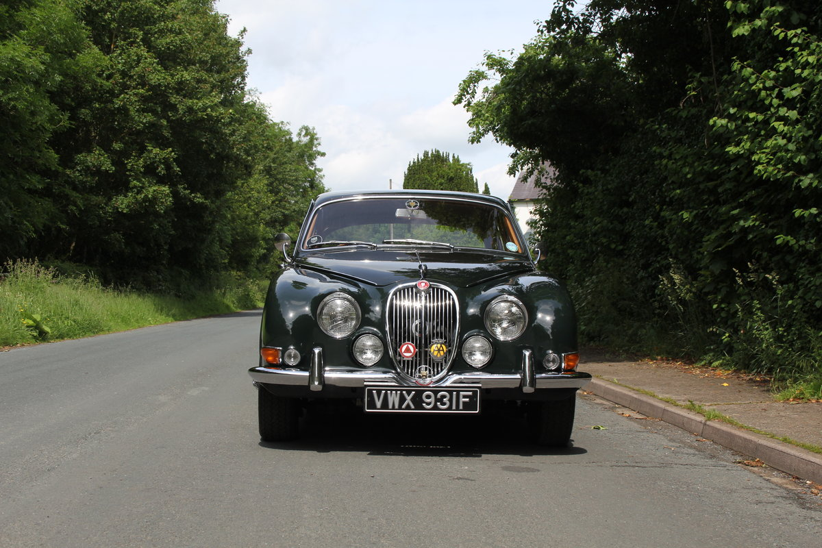 1968 Jaguar S'Type 3.4 Manual O/D - 67k Miles, Matching Numbers SOLD (picture 2 of 12)