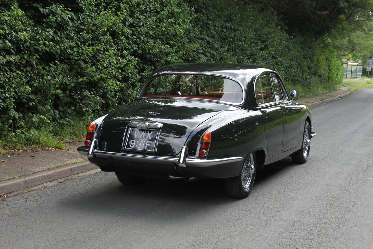 1968 Jaguar S'Type 3.4 Manual O/D - 67k Miles, Matching Numbers SOLD (picture 5 of 12)