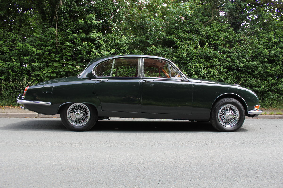 1968 Jaguar S'Type 3.4 Manual O/D - 67k Miles, Matching Numbers SOLD (picture 6 of 12)