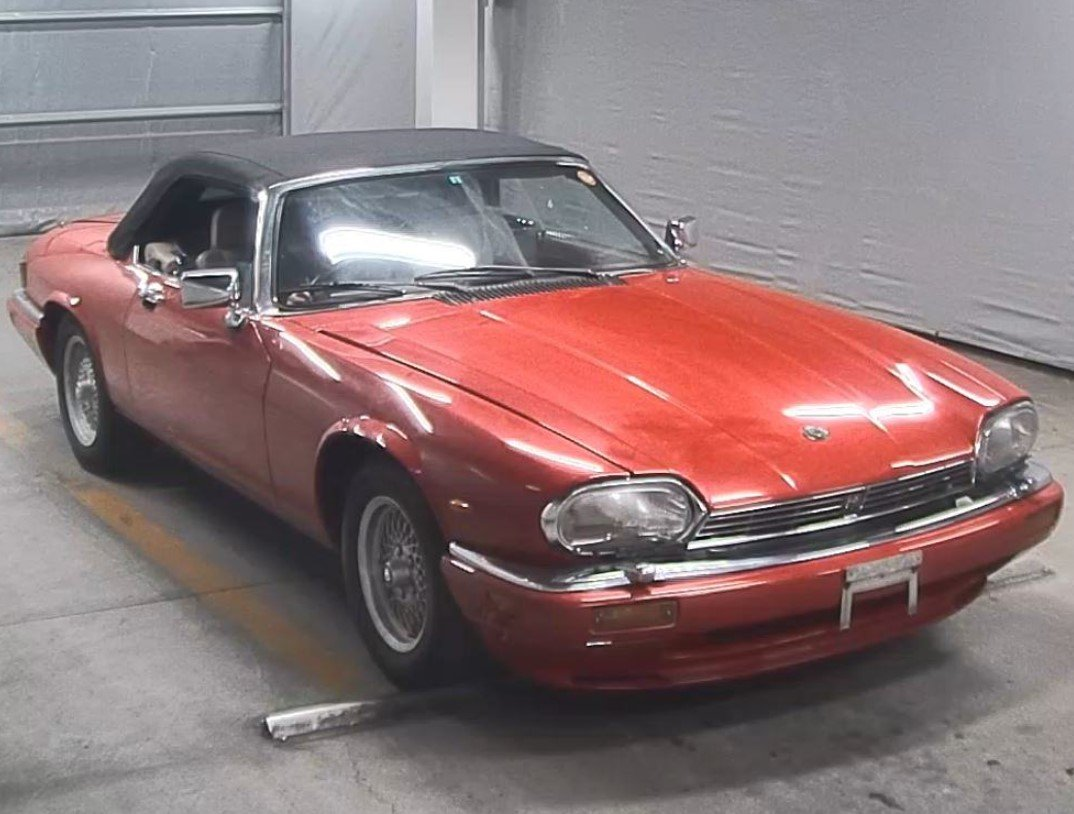1991 JAGUAR XJS CONVERTIBLE 5.3 V12 RARE IMPORTED RHD AUTO * For Sale (picture 1 of 6)