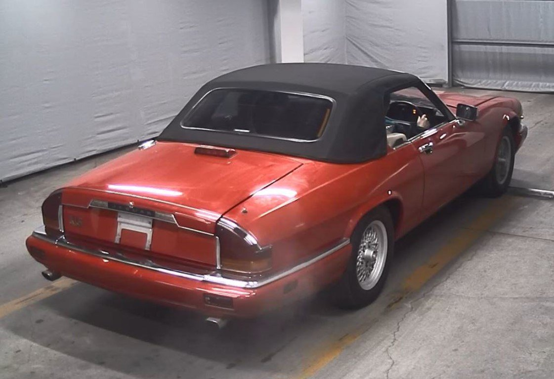 1991 JAGUAR XJS CONVERTIBLE 5.3 V12 RARE IMPORTED RHD AUTO * For Sale (picture 3 of 6)