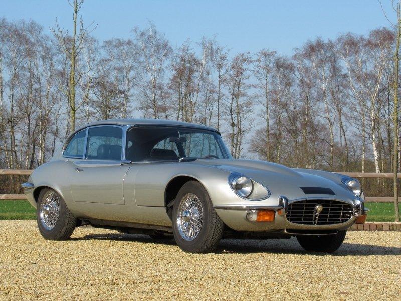 Jaguar E-type V12 2+2 LHD 1971 For Sale (picture 1 of 6)