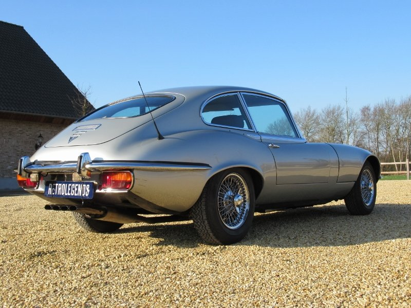 Jaguar E-type V12 2+2 LHD 1971 For Sale (picture 4 of 6)