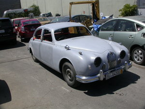 1955 EARLY RHD 2.4 4SPD O/D 70% RESTORED