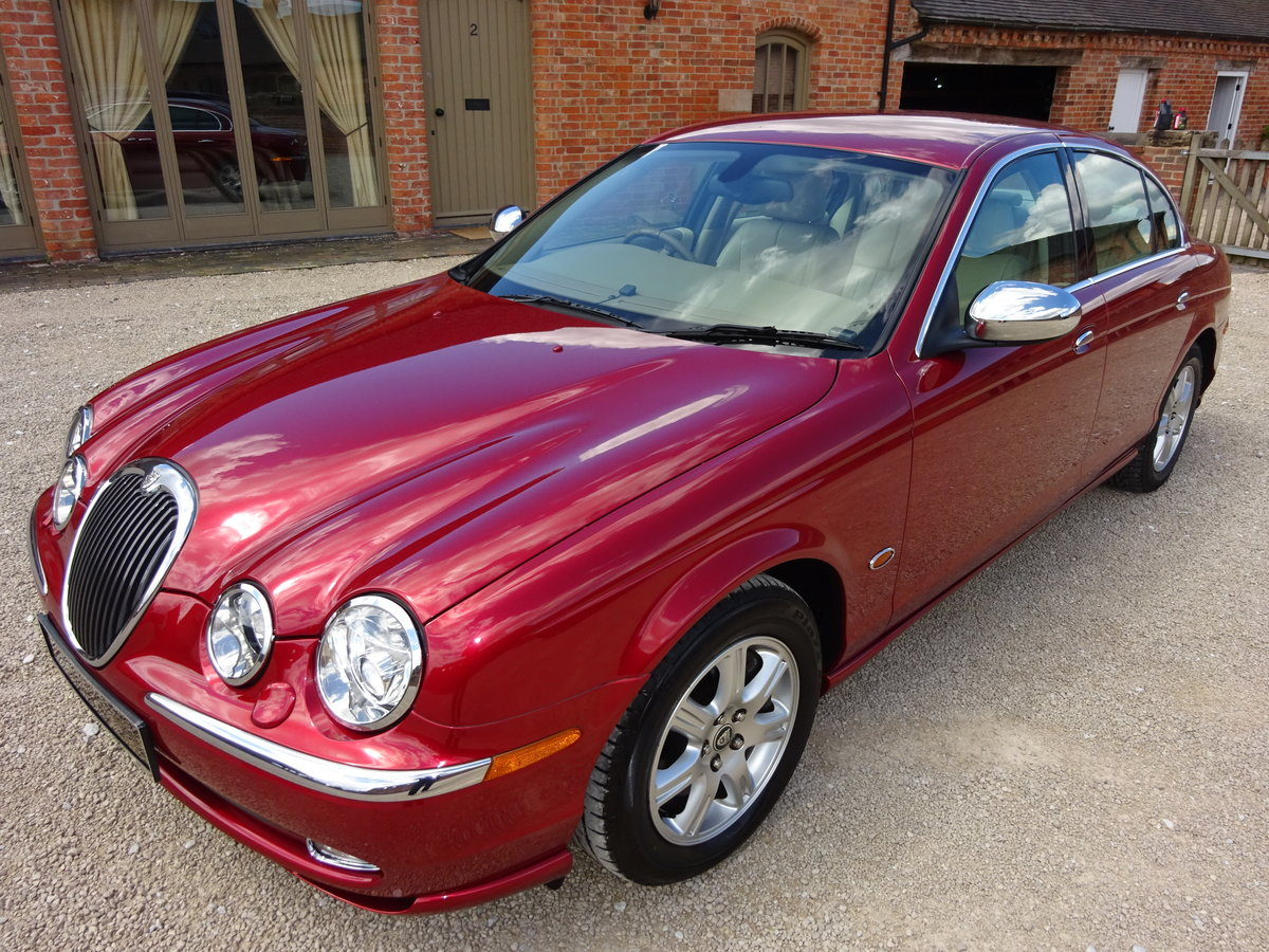 JAGUAR S TYPE 3.0 V6 AUTO 2003 14K MILES FROM NEW 1 OWNER  For Sale (picture 6 of 6)