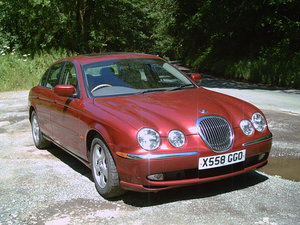 2000 JAGUAR  S  TYPE  3.0  V6 ,  72k miles, 13 stamps.