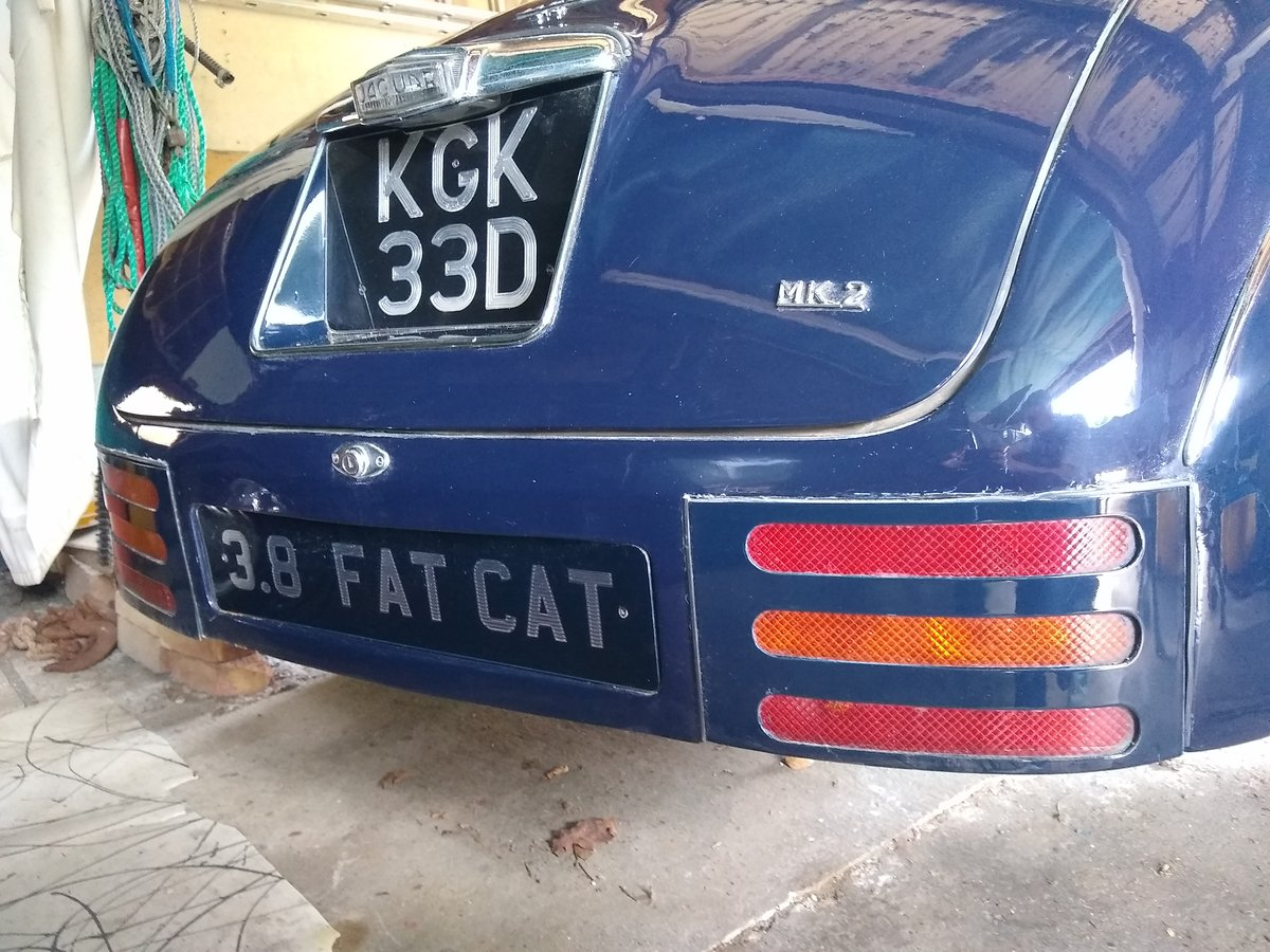 1966 Customised Mark 2 Jaguar 3.8 SOLD (picture 3 of 6)