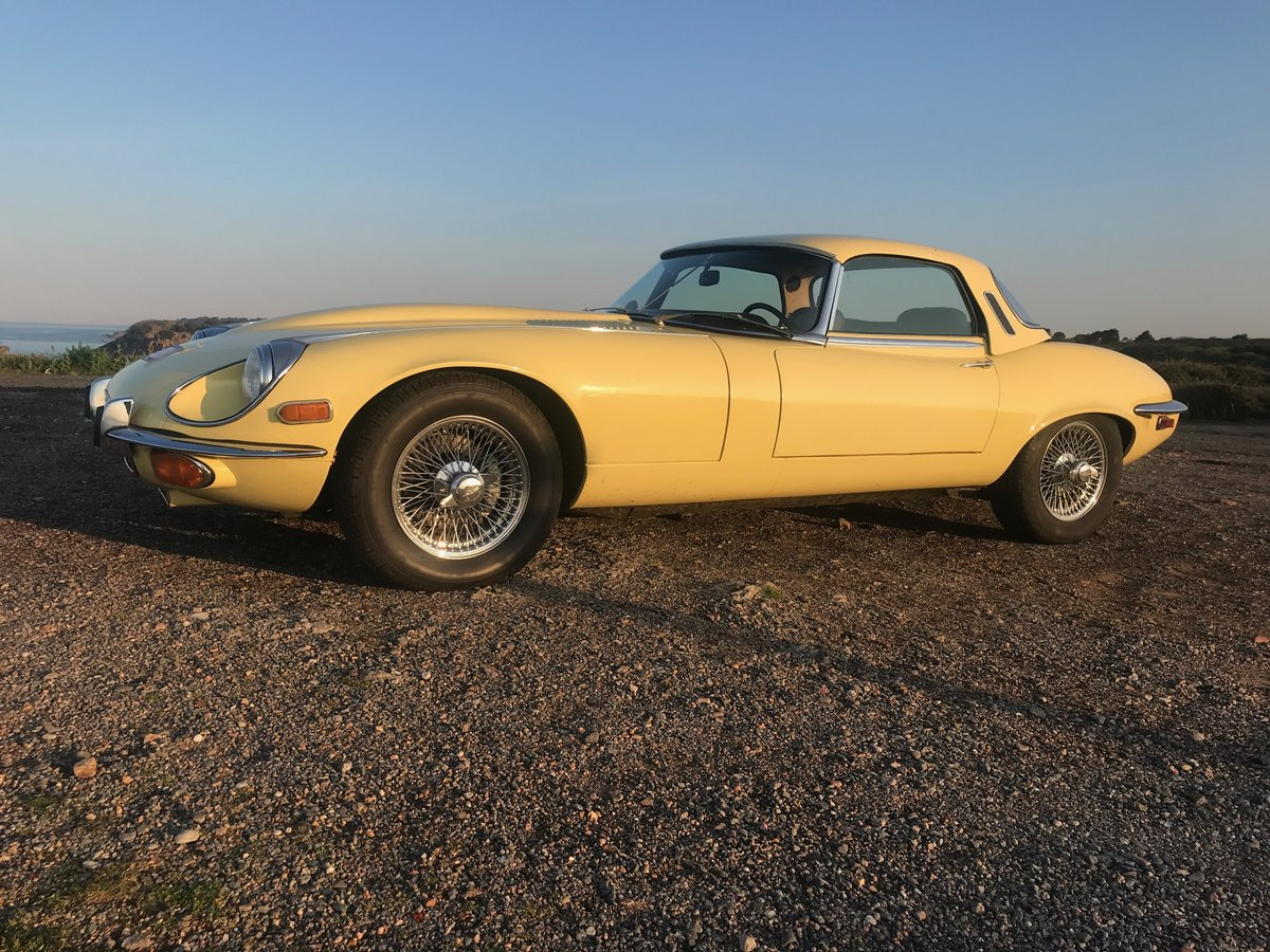 1972 Jaguar E Type Series III Roadster - Low mileage 33K Miles For Sale (picture 1 of 6)