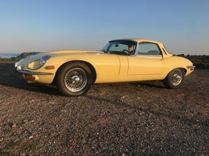 1972 Jaguar E Type Series III Roadster - Low mileage 33K Miles For Sale
