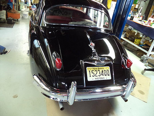 1959 Jaguar XK 150 Fixed head Coupe STUNNING For Sale (picture 3 of 6)
