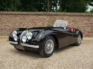 1952 Jaguar XK 120 SE 3.4 OTS matching numbers, only two owners,  For Sale
