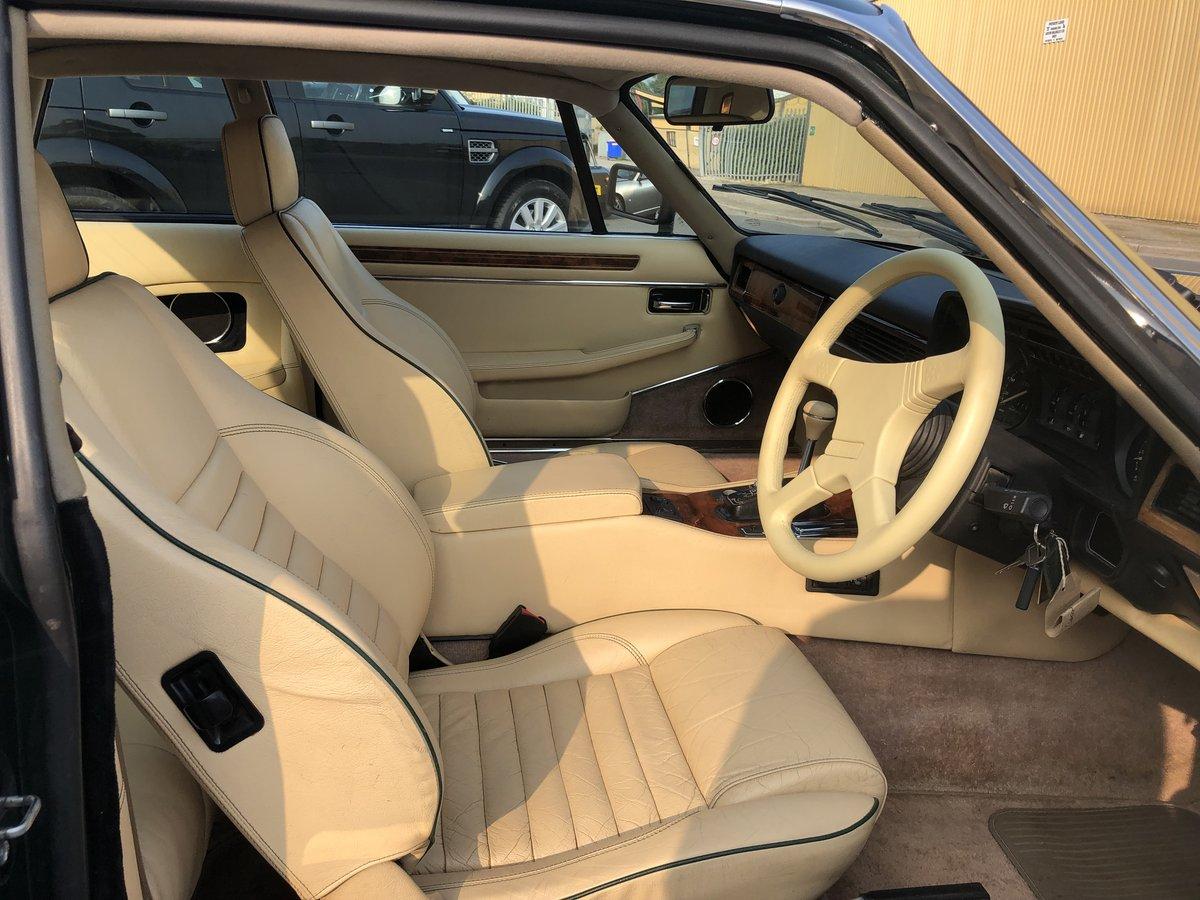 1991 Superb Jaguar XJR-S Sport 6.0 V12 Coupe Automatic For Sale (picture 3 of 6)