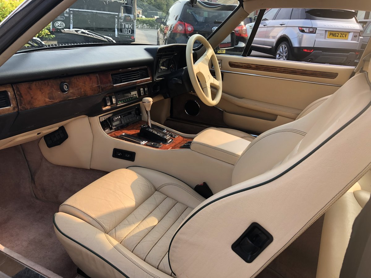 1991 Superb Jaguar XJR-S Sport 6.0 V12 Coupe Automatic For Sale (picture 4 of 6)