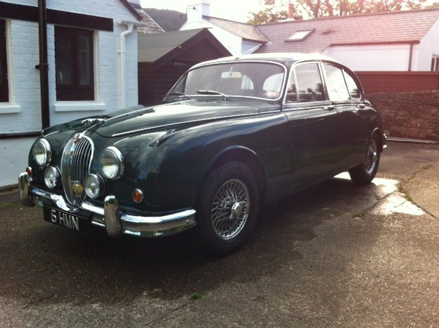 1960 Jaguar Mk2 3.8 MOD For Sale (picture 1 of 6)