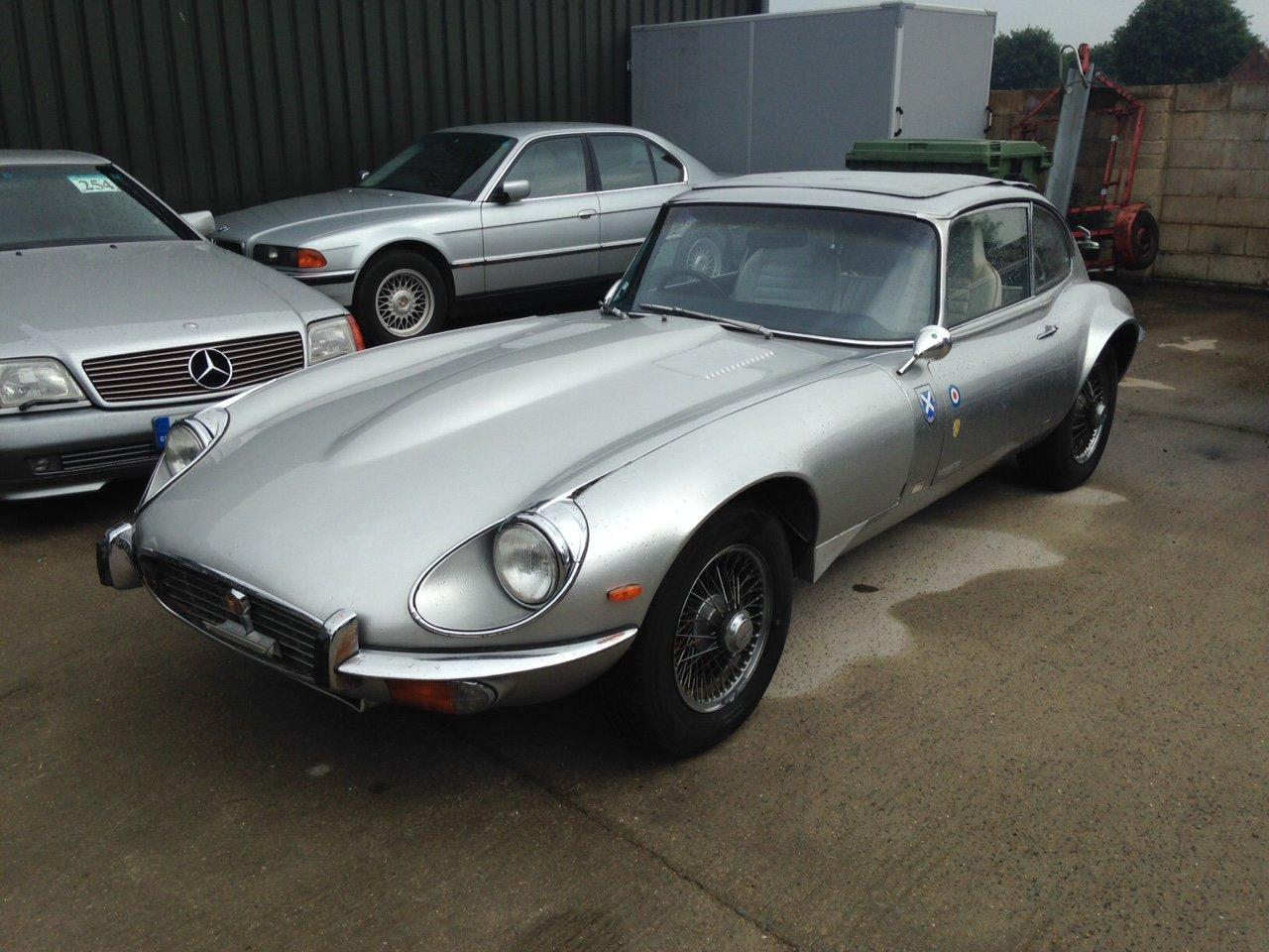 1971 Jaguar E Type s3 V12 Coupe Auto RHD For restoration