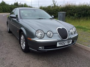 2002 ELEGANT JAGUAR S-TYPE 3.0 SE V6 SALOON For Sale