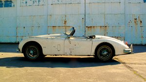 Picture of 1958 Jaguar XK150S Roadster. The most original example.