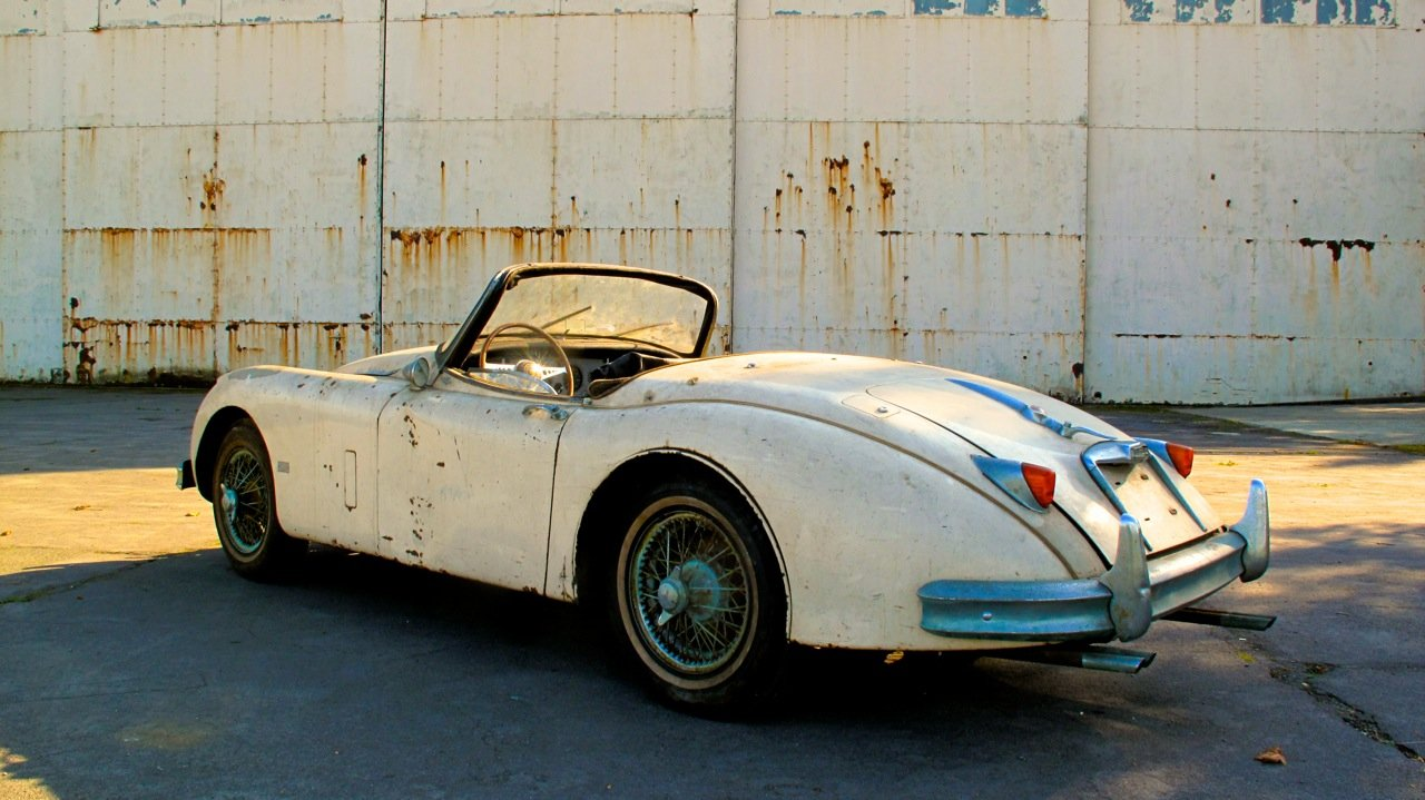1958 Jaguar XK150S Roadster. The most original example. For Sale (picture 2 of 6)