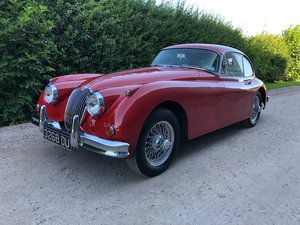 1958 XK150 FHC 3.4  For Sale