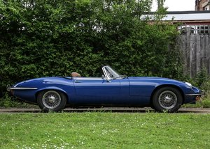 1973 Jaguar E-Type Series III Roadster For Sale by Auction