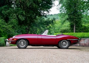 1968 Jaguar E-Type Series II Roadster SOLD by Auction