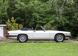 1988 Jaguar XJS Convertible (5.3 litre) For Sale by Auction
