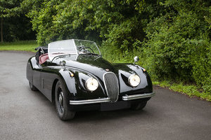 1952 JAGUAR XK120 DROP HEAD COUPE LHD In Beamish Auction Jul SOLD