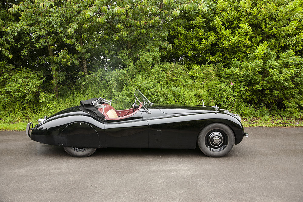 1952 JAGUAR XK120 DROP HEAD COUPE LHD In Beamish Auction Jul SOLD (picture 3 of 6)