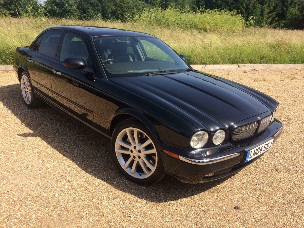 2004 Jaguar XJR 4.2 Auto Supercharged. 52k Miles Fsh Immacul For Sale (picture 1 of 6)