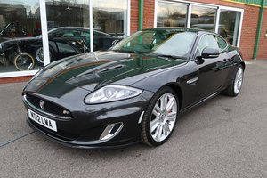 2012 Jaguar XKR 5.0 V8 Supercharged in Stratos Grey Metallic