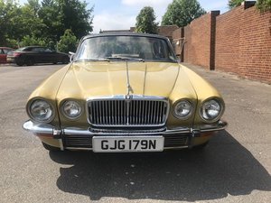 1974 Series 2 Jaguar XJ 4.2L to be sold by auction. SOLD by Auction