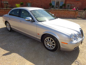 2005 JAGUAR S-TYPE 2.5 V6 AUTO - COVERED 21K MILES 1 OWNER