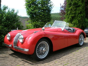 1952 XK 120 OTS, excellent throughout, 1 owner since 30 years For Sale