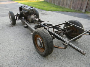 1954 Jaguar XK120 Rolling Chassis /Drivetrain- Free Shipping For Sale