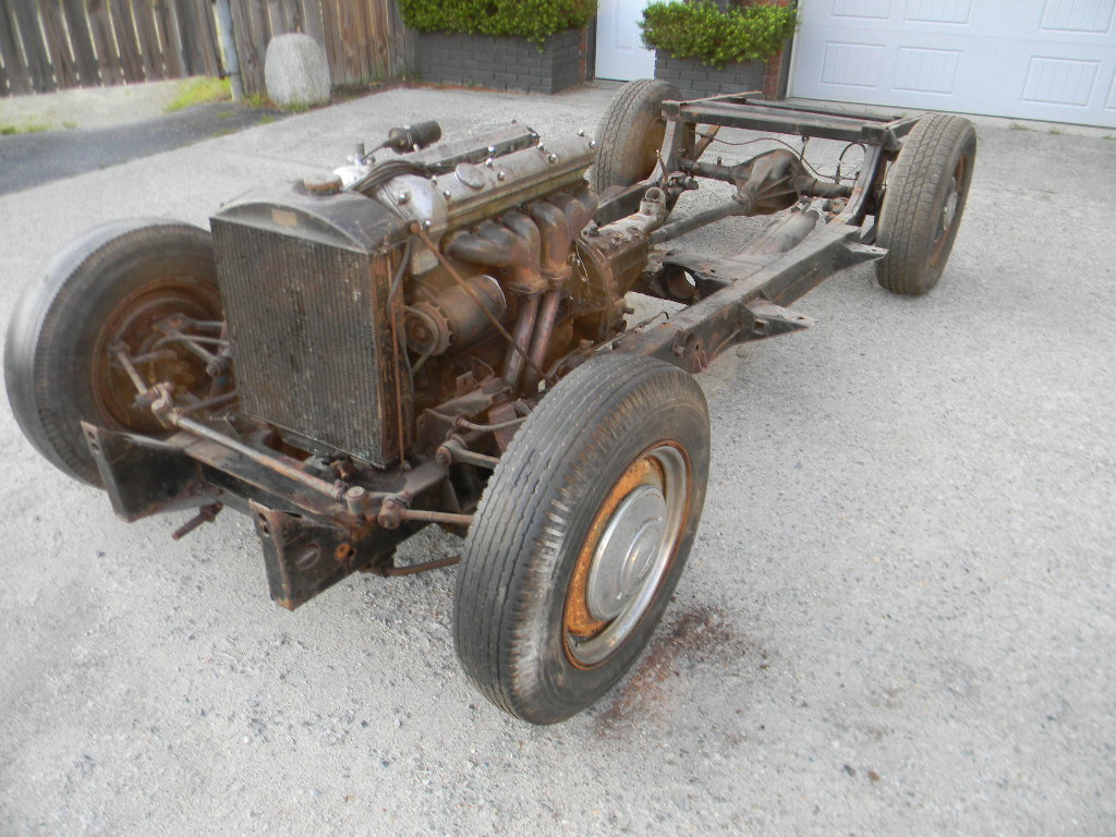 1954 Jaguar XK120 Rolling Chassis /Drivetrain- Free Shipping For Sale (picture 2 of 6)