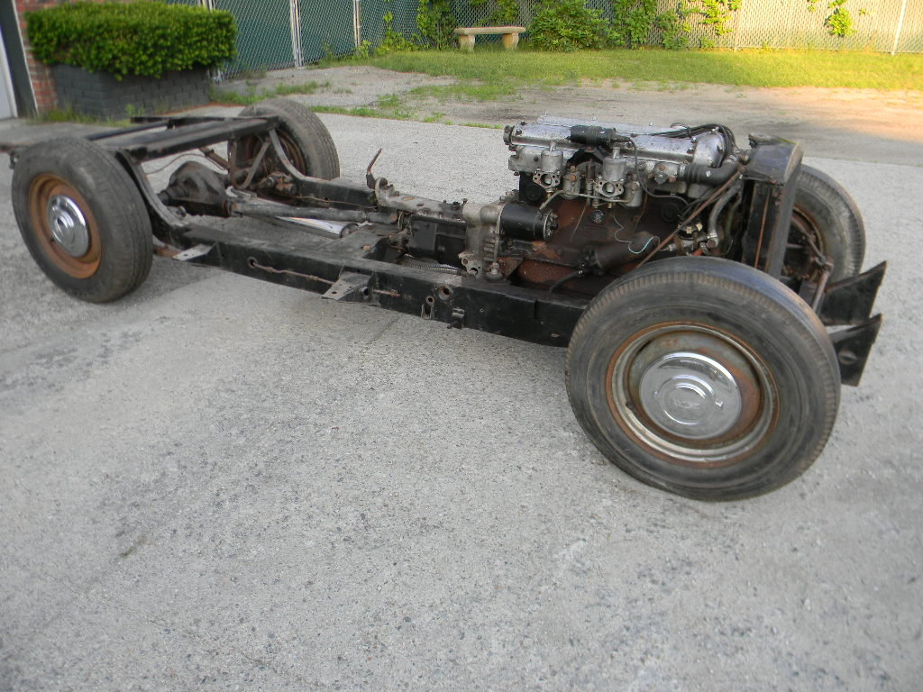 1954 Jaguar XK120 Rolling Chassis /Drivetrain- Free Shipping For Sale (picture 3 of 6)