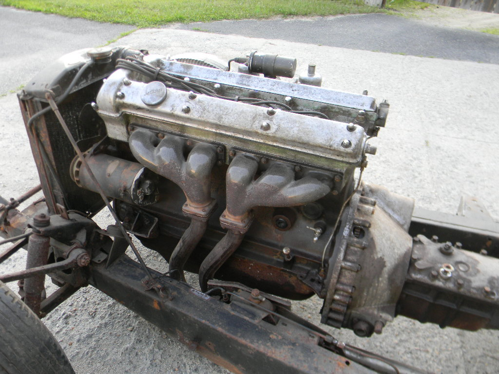 1954 Jaguar XK120 Rolling Chassis /Drivetrain- Free Shipping For Sale (picture 4 of 6)