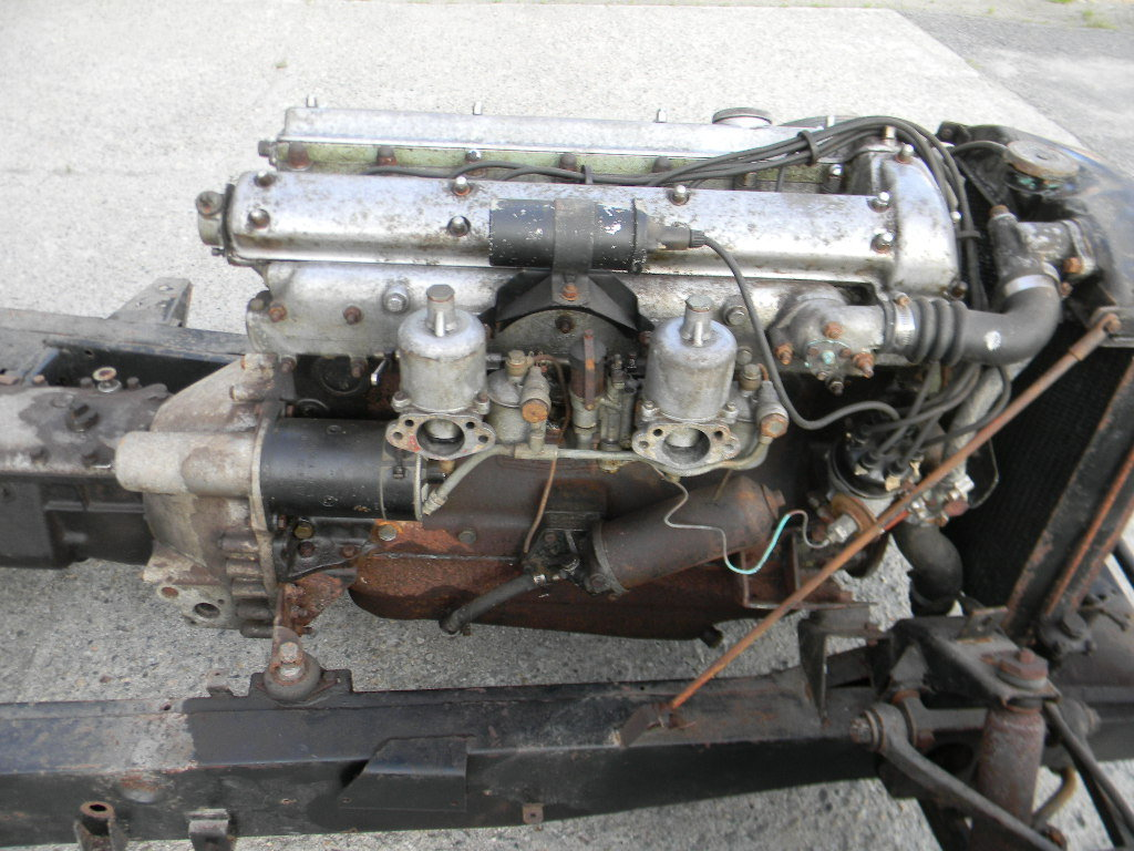 1954 Jaguar XK120 Rolling Chassis /Drivetrain- Free Shipping For Sale (picture 5 of 6)
