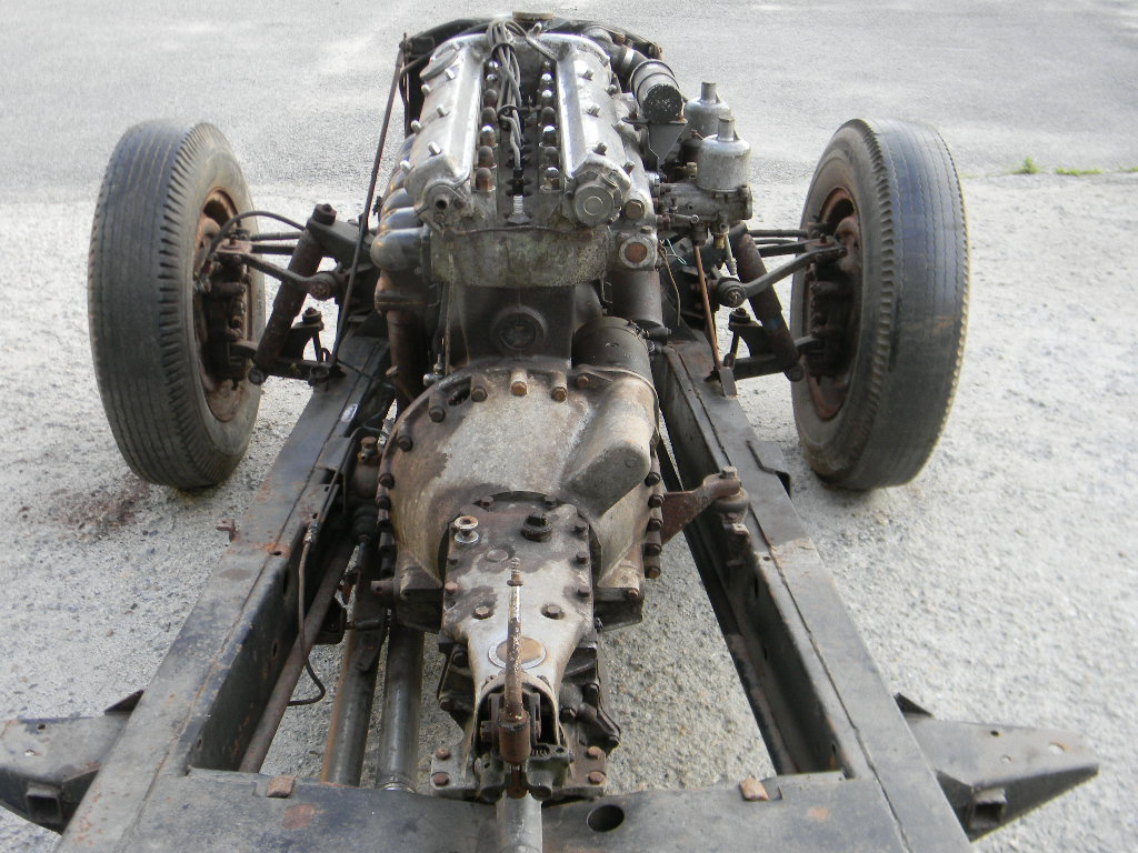 1954 Jaguar XK120 Rolling Chassis /Drivetrain- Free Shipping For Sale (picture 6 of 6)