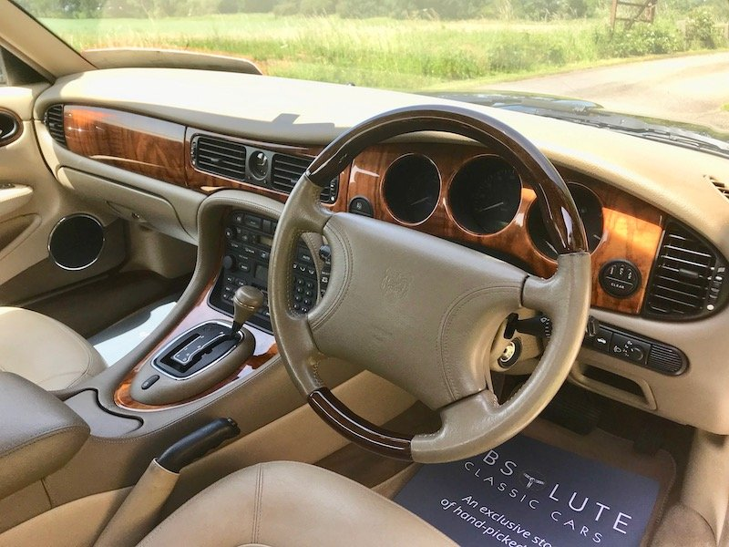 1998 Jaguar XJ8 - XJ series, 1 owner, 55k miles, FSH - Beautiful SOLD (picture 3 of 6)