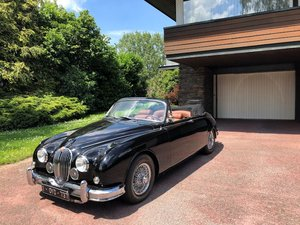 Jaguar MKII 3.8 Vicarage Convertible 1962 LHD For Sale