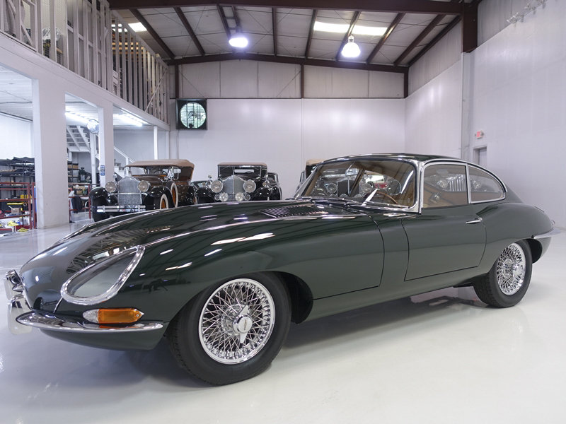 """1961 Jaguar E-Type Series 1 """"Flat Floor"""" Fixed Head Coupe For Sale (picture 1 of 6)"""