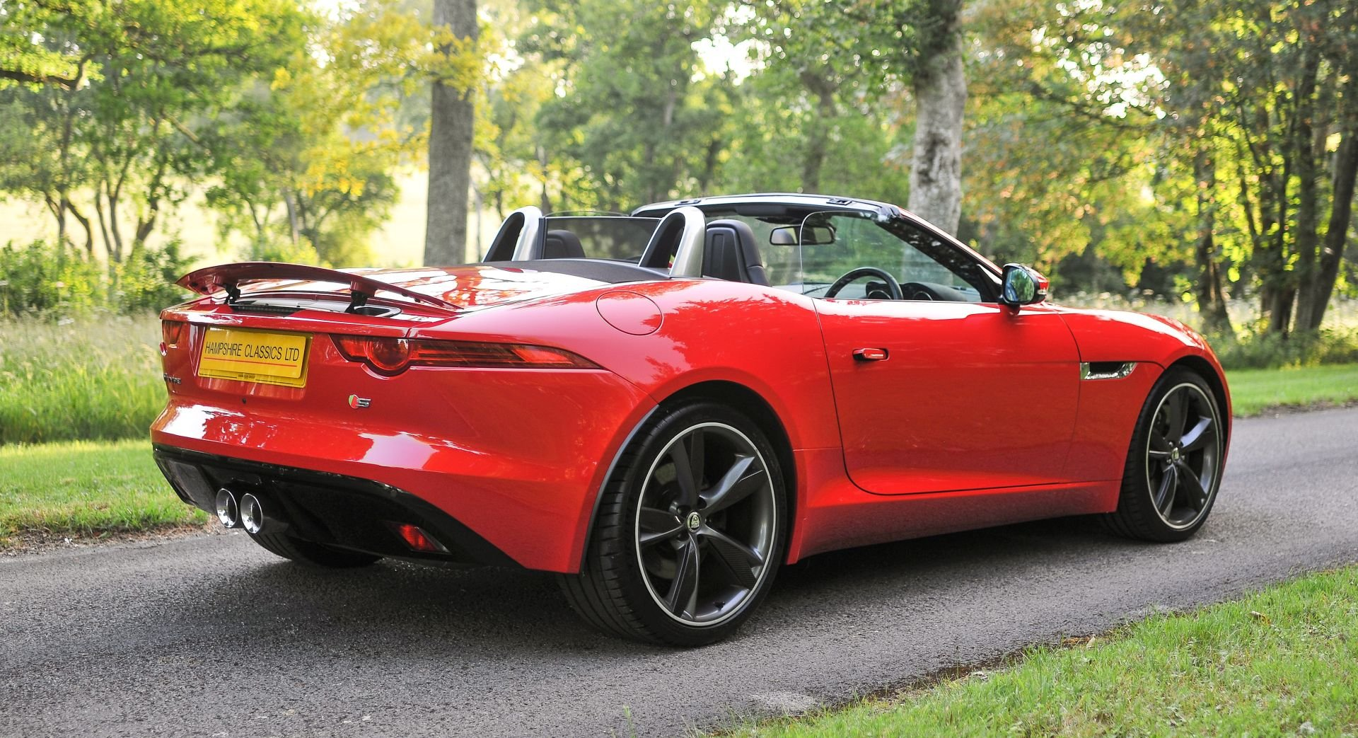 2014 Jaguar F-Type V6S Roadster (380PS) SOLD (picture 2 of 6)