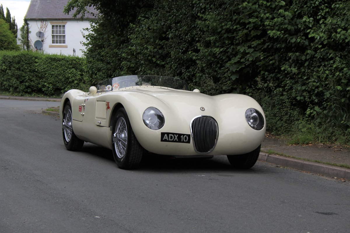 1960 Jaguar C-Type Recreation For Sale (picture 1 of 12)
