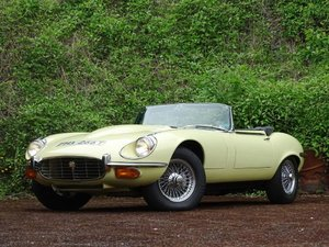 1973 Jaguar E-Type V12 Roadster For Sale by Auction